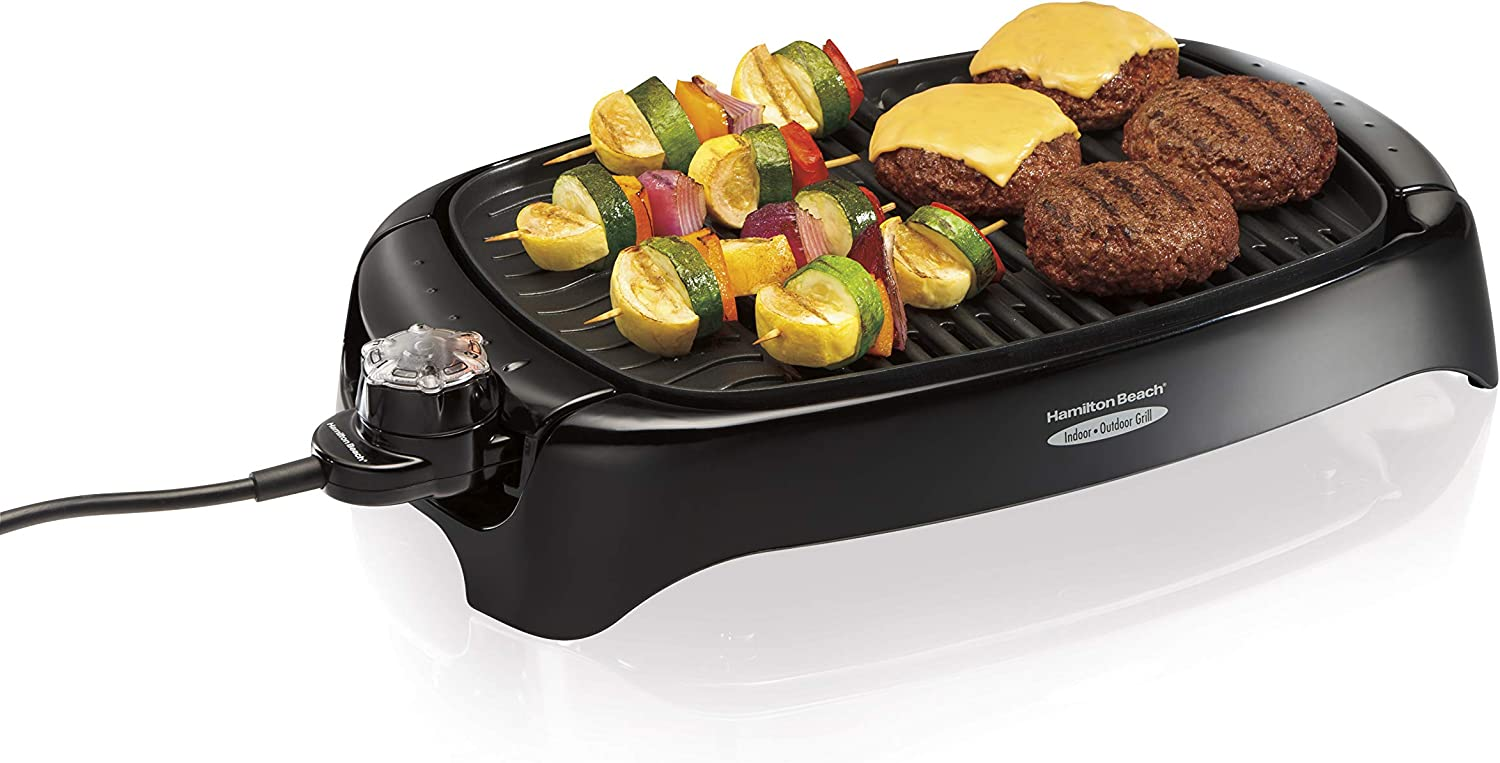 Hamilton Beach 8-Serving Electric Smokeless Indoor Grill. Best New Small Kitchen Appliances — Reviewing Indoor Grills