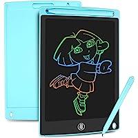 HOMESTEC Tableta Escritura LCD Color, Pizarra Digital para apuntar recordatorios Escribir o Dibujar (8,5 Pulgadas, Azul)