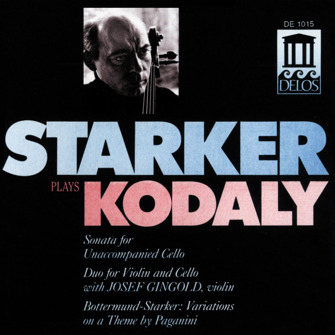 Starker Plays Kodaly