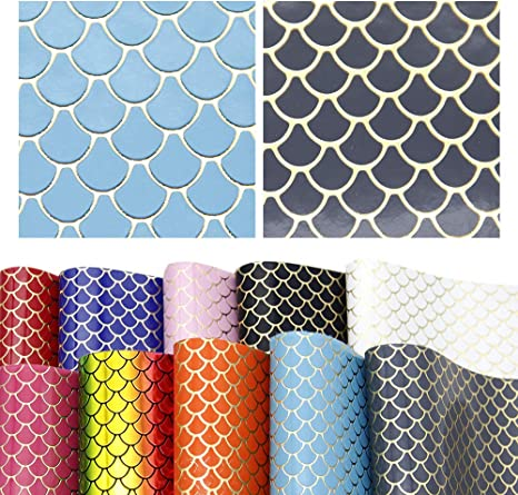 20*34cm Heart PU Synthetic Leather Fabric Sheets DIY Handmade Craft Hair Bows