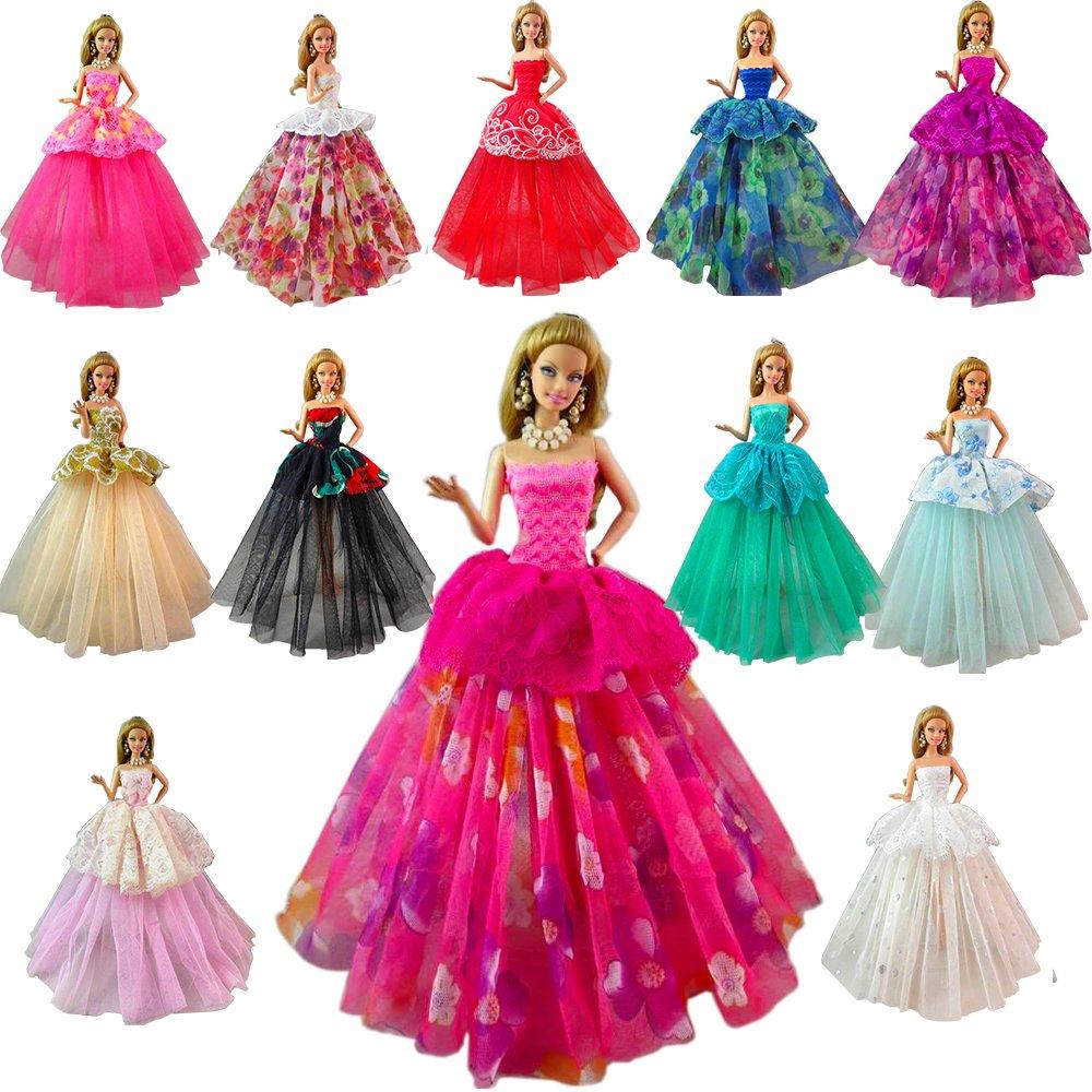 vestidos de noche para Barbie