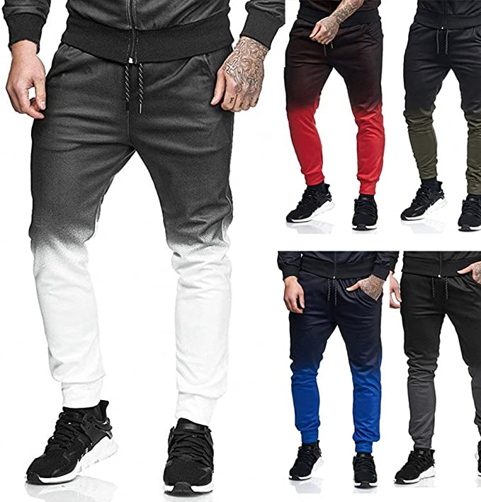 MOVERV-Pantalones para Hombre Chándal Deporte Pantalón para Hombre ...