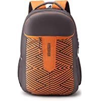 American Tourister Crone 29 Ltrs Grey Casual Backpack (FG8 (0) 08 102)