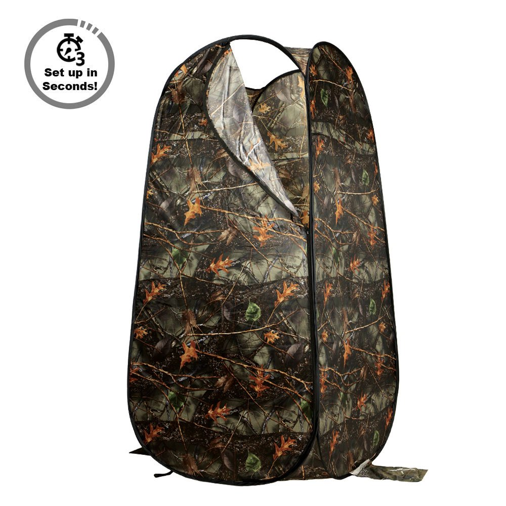 PARTYSAVING Portable Privacy Outdoor Pop-up Room Tent Camping Shower Toilet Beach Park APL1303, Burly Camo by PARTYSAVING