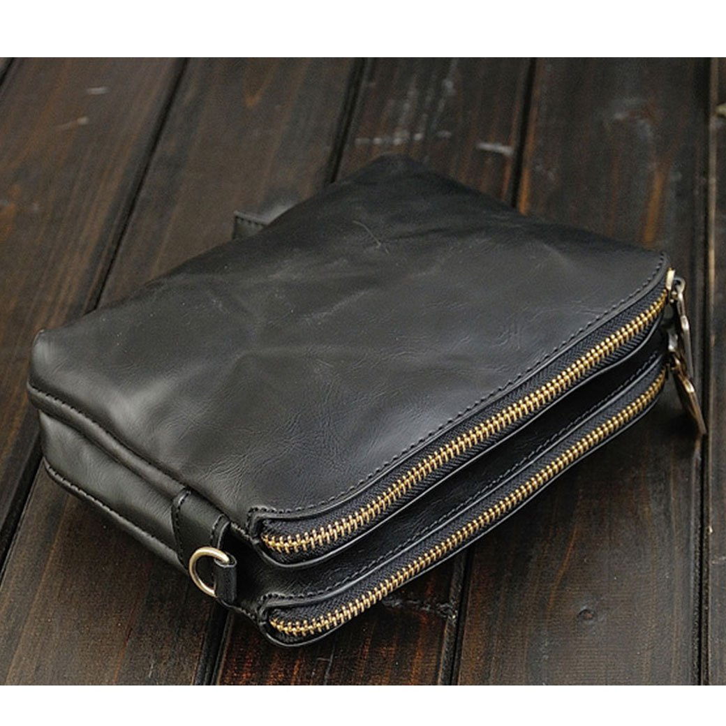 NUBEN Women Clutch Wallet Casual Synthesis Cowhide Big Capacity Unisex