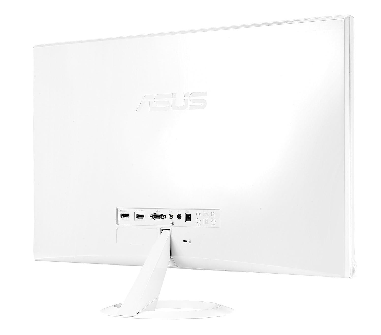 Asus Vx279h W Monitor 27 Fhd 1920x1080 Ips Frameless Flicker Vc279h Eye Care Full Hd Speaker Tuv Free Low Blue Light Bianco Informatica