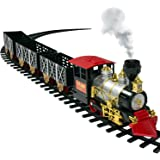 Amazon.com: Fisher-Price GeoTrax Christmas Train Christmas in ...