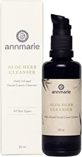 product image for Annmarie Skin Care Aloe-Herb Facial Cleanser - Gentle Cleanser with Aloe Vera, Coconut Oil + Calendula, Suitable for All Skin Types (50 Milliliters, 1.7 Fluid Ounces)