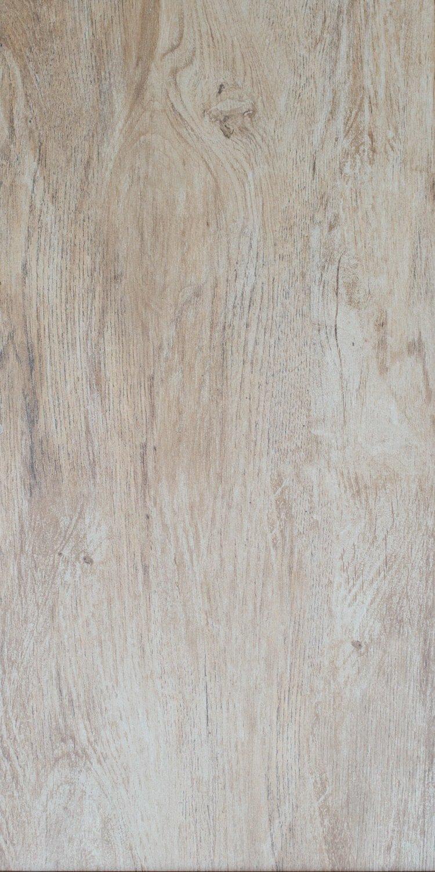 Bodenfliese Teak beige matt im Format 30x60cm aus Feinsteinzeug Fliesen in Holzoptik Muster ab 10x10cm
