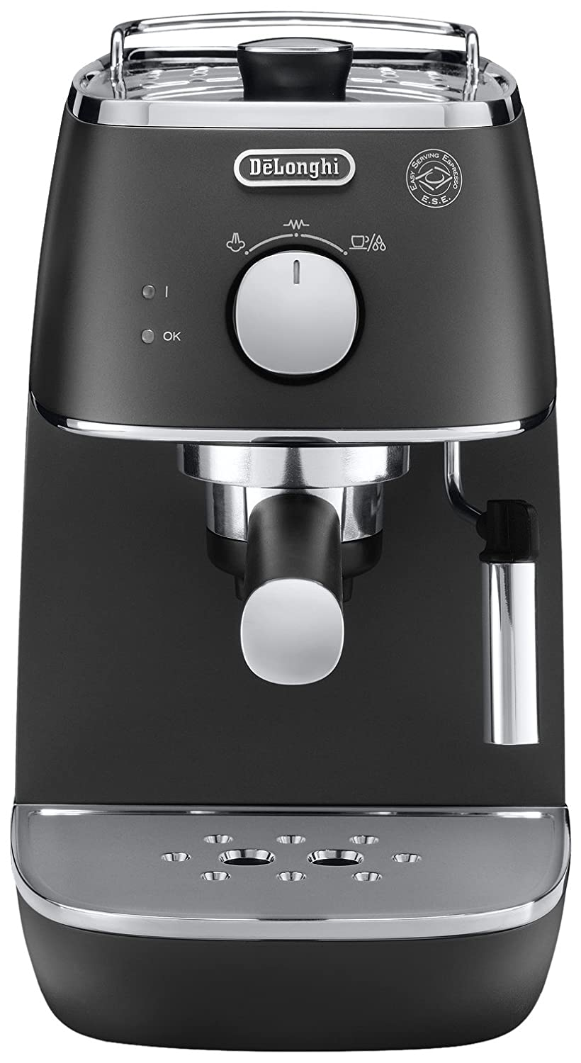 De'Longhi Distinta ECI341BK Traditional Pump Espresso Machine - Black [Energy Class A] De'Longhi ECI 341.BK 0132104144