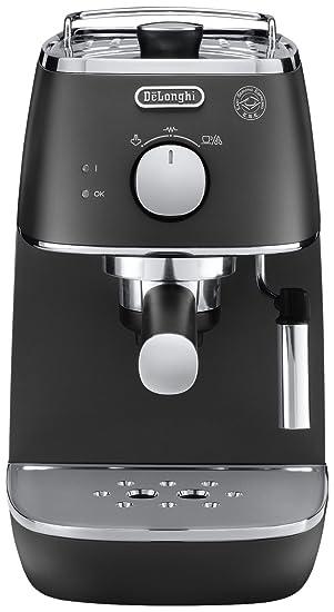 BK Independiente Semi-automática Máquina espresso 1L 2tazas Negro - Cafetera