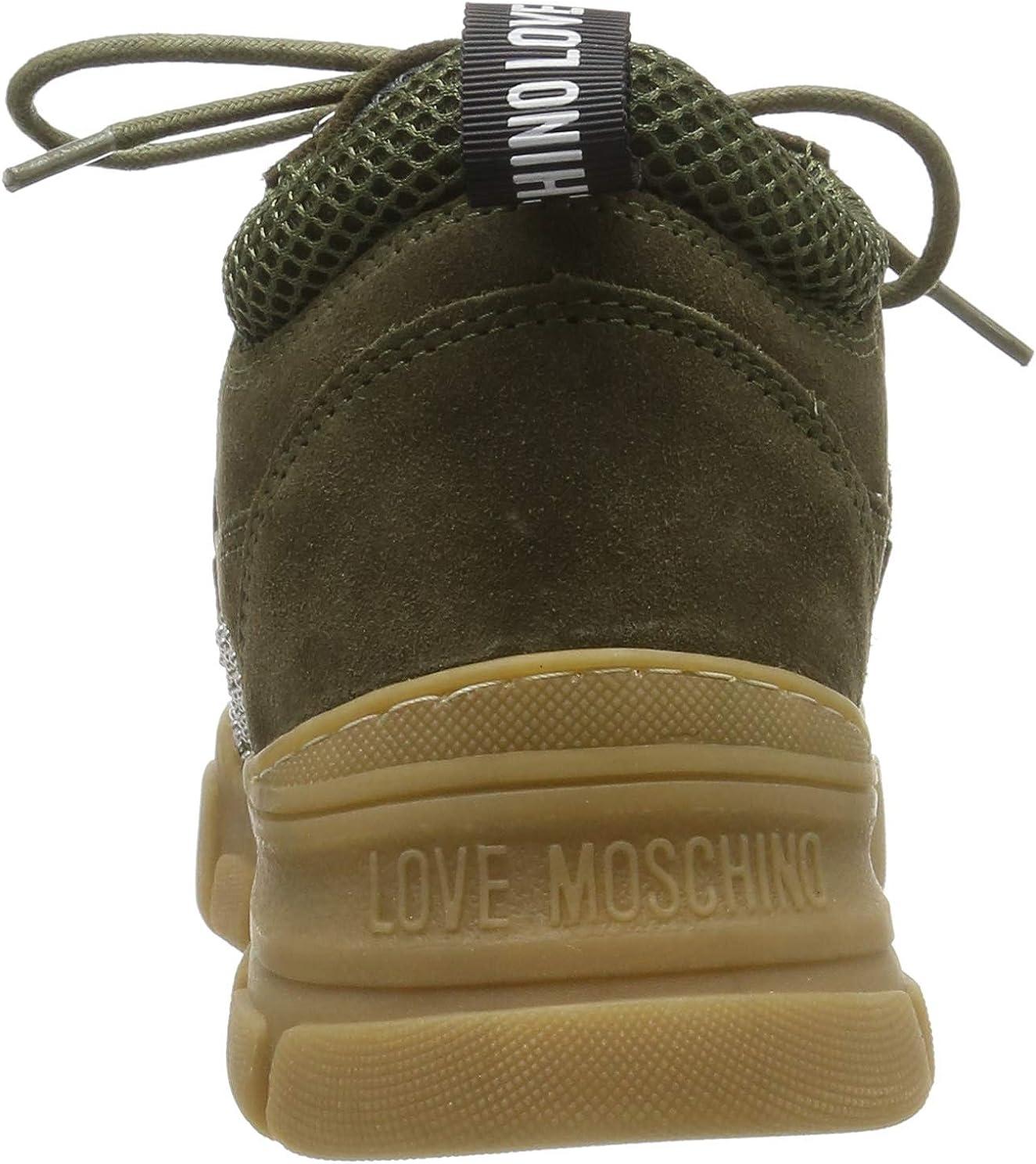 Love Moschino Womens High Hi-Top Trainers