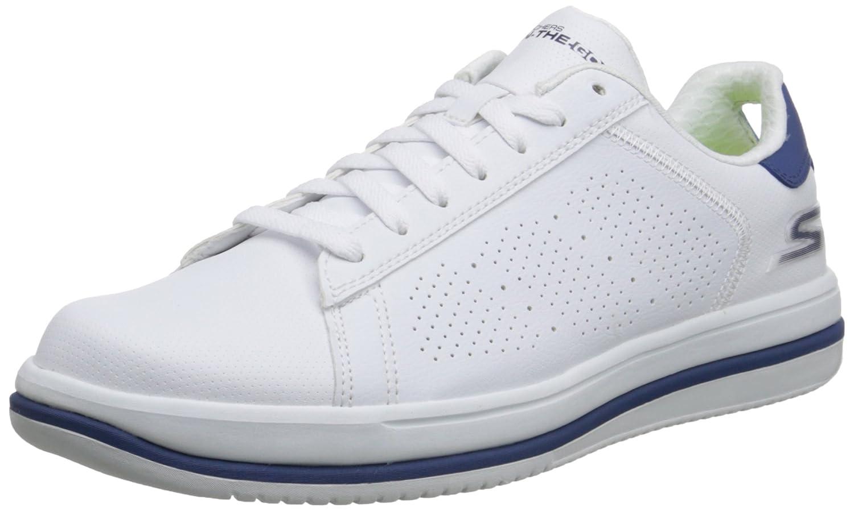Skechers on-The-Go Element Herren Sneakers  US 6.5|UK 5.5|EU 39|White/Navy