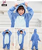 Tonwhar Kids Stitch Kigurumi Pajamas Children's