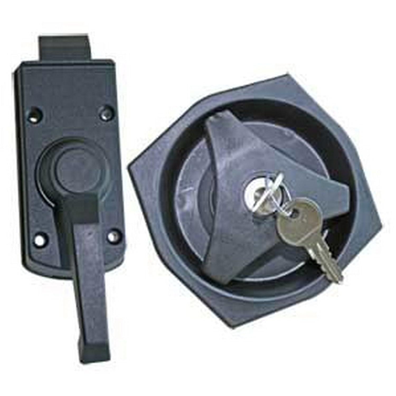 Pertemba Global Kit de cerrojo zurdo para interior y exterior UTMD522_1