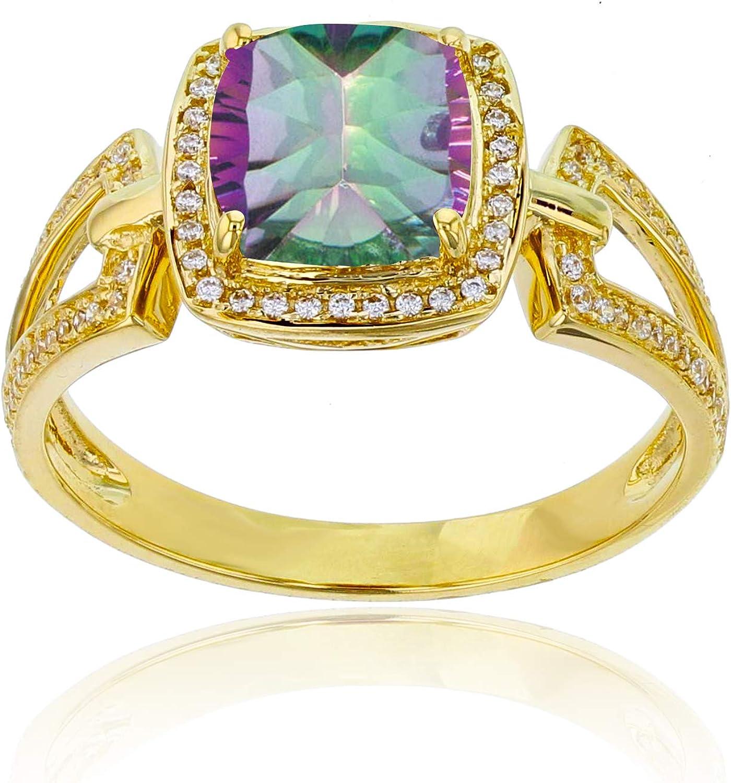 1//10 cttw, Size-13 G-H,I2-I3 3 Diamond Promise Ring in 10K White Gold