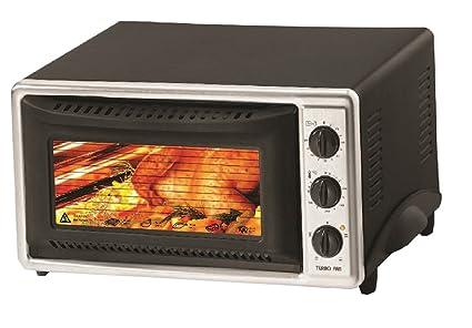 Mini horno 40 litros, con pincho giratorio recirculación Interior Iluminación minofen Pizza Horno Mini Horno