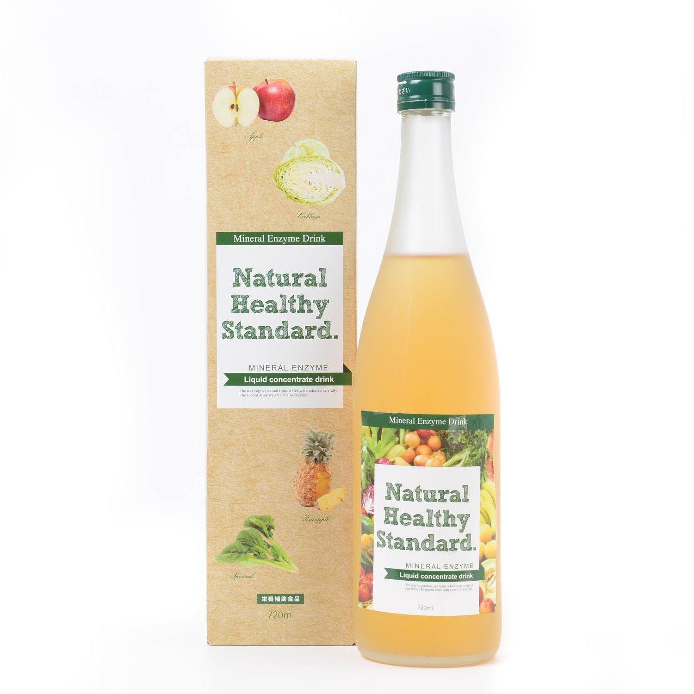 Mineral enzyme drink apple taste