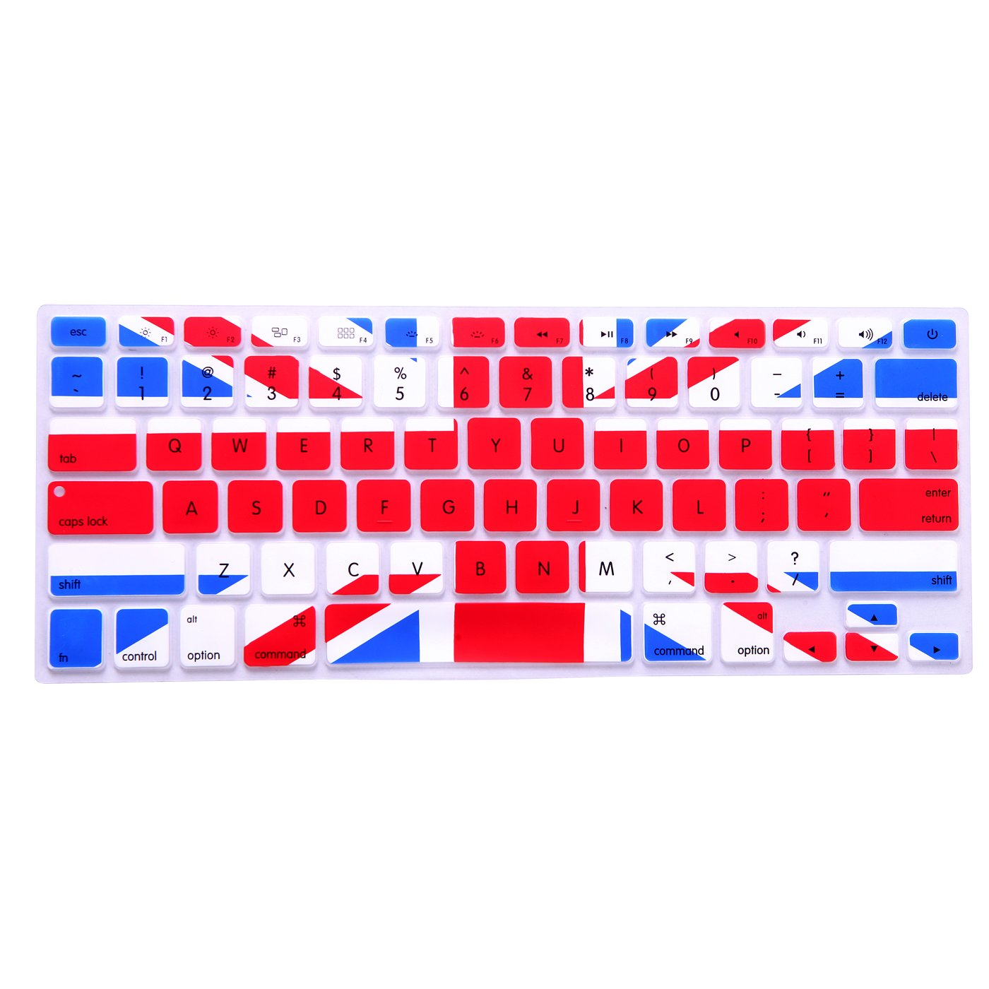 HDE Silicone Rubber Keyboard Skin Cover for Macbook Air 13 and MacBook Pro 13 Retina (Black) FBA_HDE-F172-2014