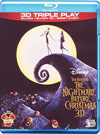 the nightmare before christmas 3d blu rayblu ray 3d - Nightmare Before Christmas 3d