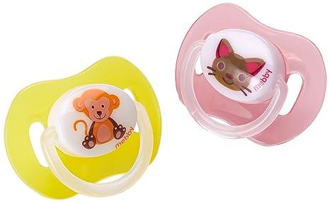 MEBBY 92.523 Anatómico Chupete de silicona, niña de 12 meses ...
