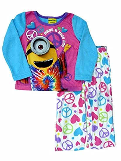 Amazon.com  Despicable ME Girl s Size 6 Fleece Have A Nice Day ... 764092448