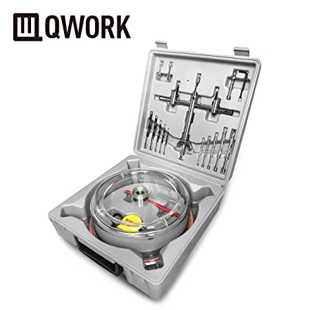 Qwork 1 58 to 8 40 200mm adjustable hole cutter hole saw for qwork 1 58 to 8 40 200mm adjustable hole cutter hole saw for recessed lights ceiling speakers vent holes on sheetrock drywall plaster ceiling tile aloadofball Images