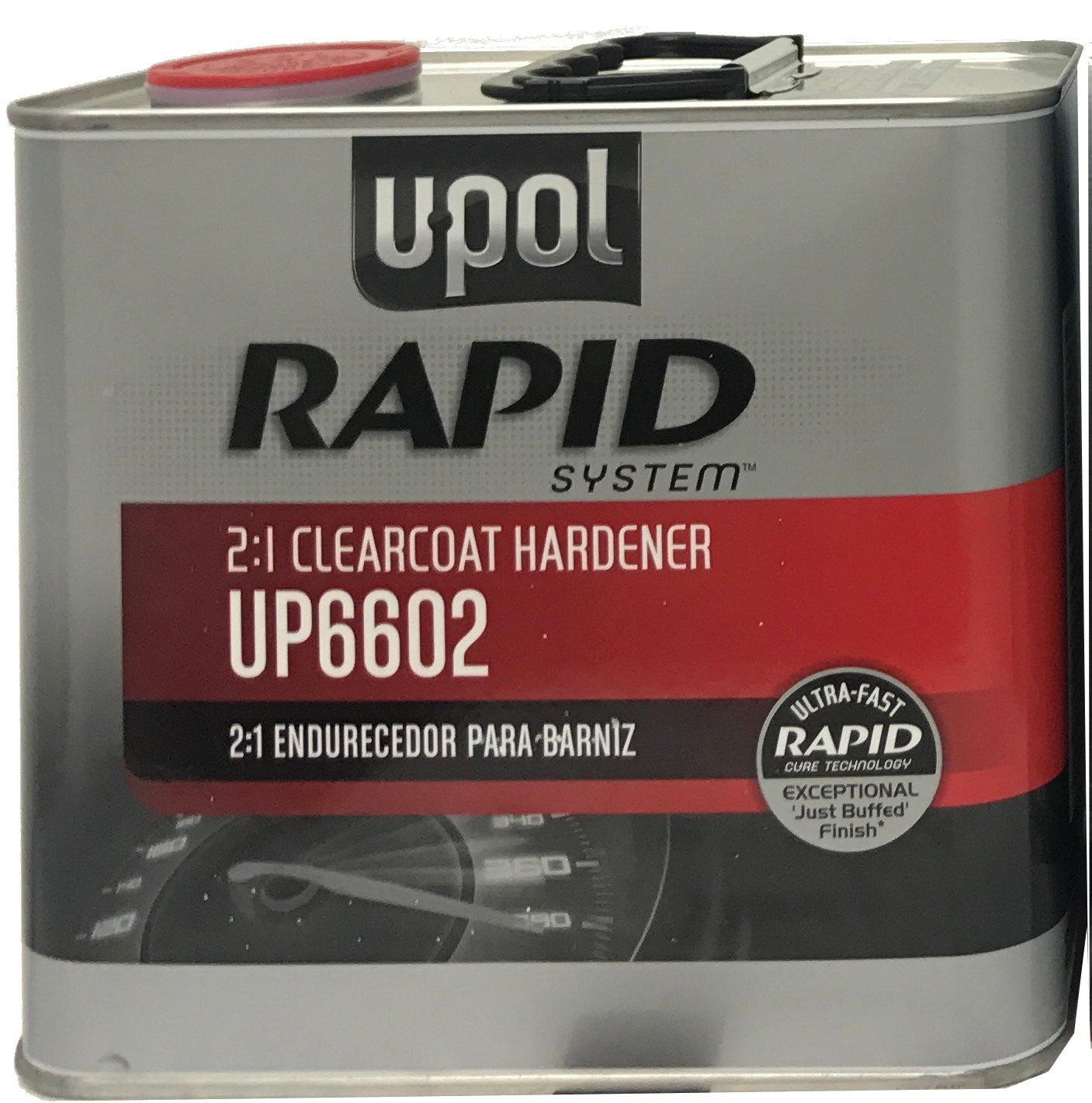 U-Pol RAPID SYSTEM CLEARCOAT HARDENER UP6602 2.5 Liters