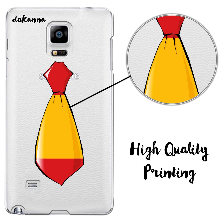 dakanna Funda para Samsung Galaxy Note 4 | Corbata Bandera España ...