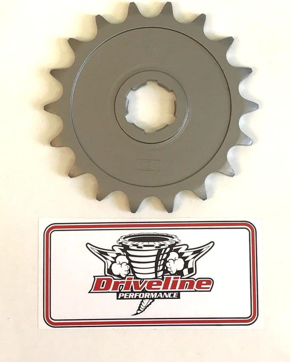 15 Tooth Driveline Performance Yamaha Banshee Front Sprocket