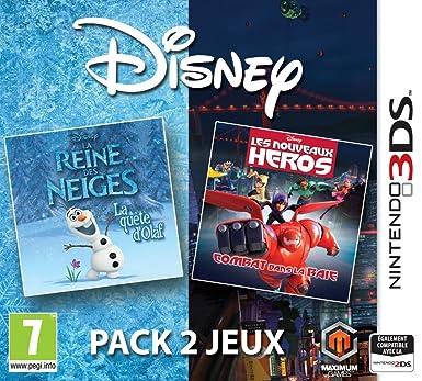 disney pack 2 jeux la reine des neiges les nouveaux hros