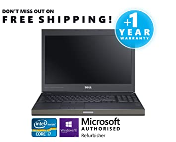 Dell Precision M4700 Intel Quad Core i7 Processor 32GB RAM 1TB 7200rpm Hard  Drive 15 6 1920x1080 Full HD LED Screen nVidia Quadro with 2GB Dedicated