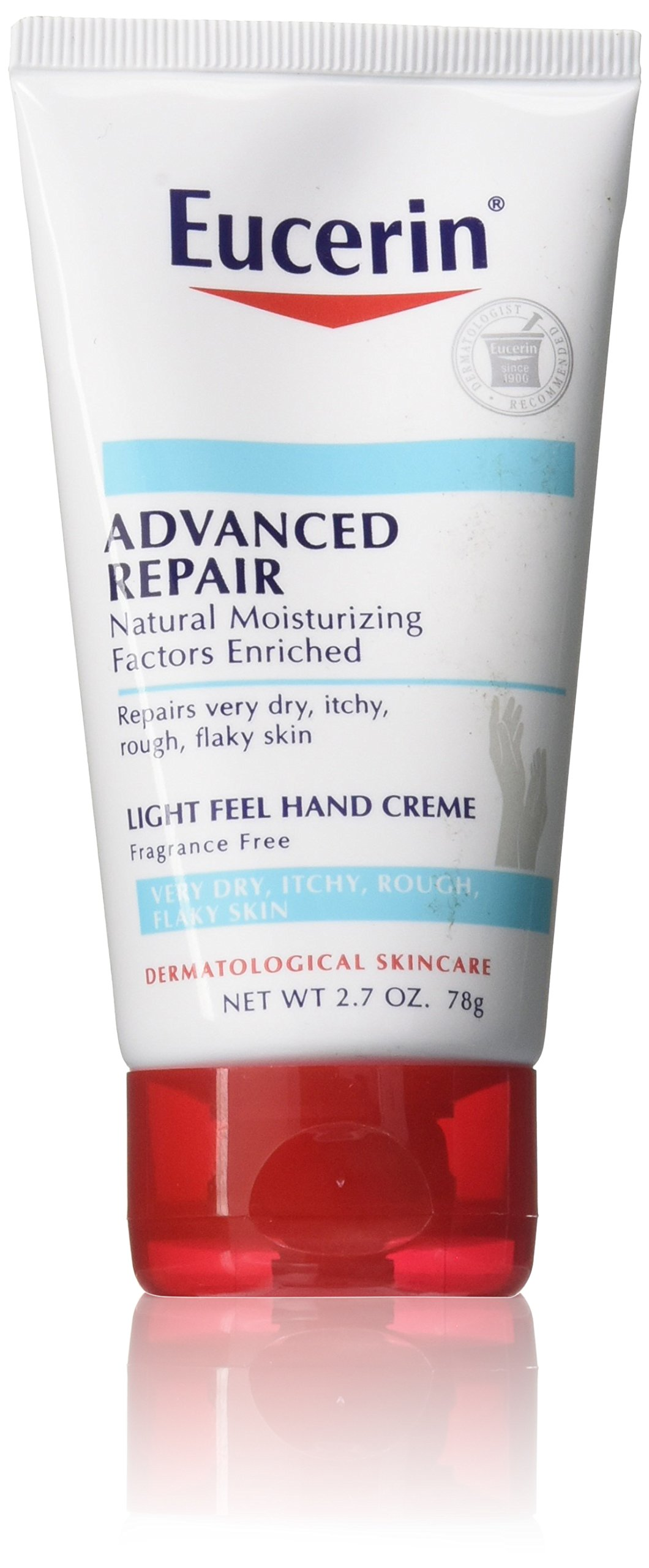Eucerin Advanced Repair Hand Creme, 2.7 Ounce
