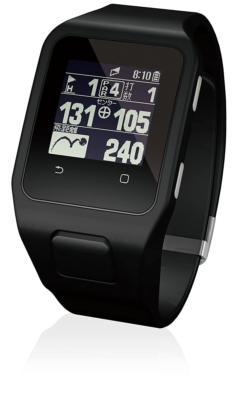 ユピテル(YUPITERU) Yupiteru GOLF YG-Watch A    使用可能時間(満充電時):ゴルフナビモード最大約10時間/時計モード最大140日 ディスプレイ:1.28インチタッチパネルモノクロ液晶