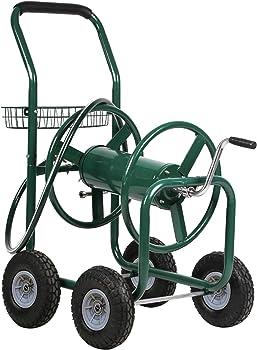 FDW Hose Reel Cart with 4 Wheels