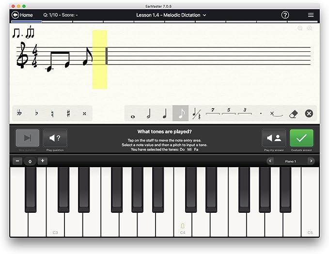 EarMaster Pro 7 - Solfeo y ear training: Amazon.es: Instrumentos ...