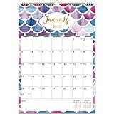 "Calendar 2021-12 Monthly Wall Calendar Planner Jan 2021 - Dec 2021, 12"" x 17"", Twin-Wire Binding, Large Blocks with…"