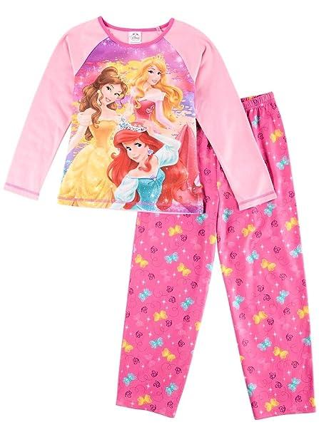 Disney Conjunto de pijama Princess Ariel Belle Aurora, tama?o de ni?a