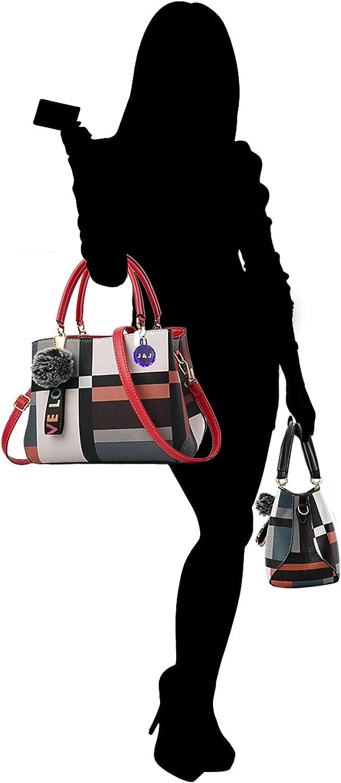 SupFabPal Women's Crossbody bag, Messenger, Satchel, Tote bag, Shoulder bag, handbag Black