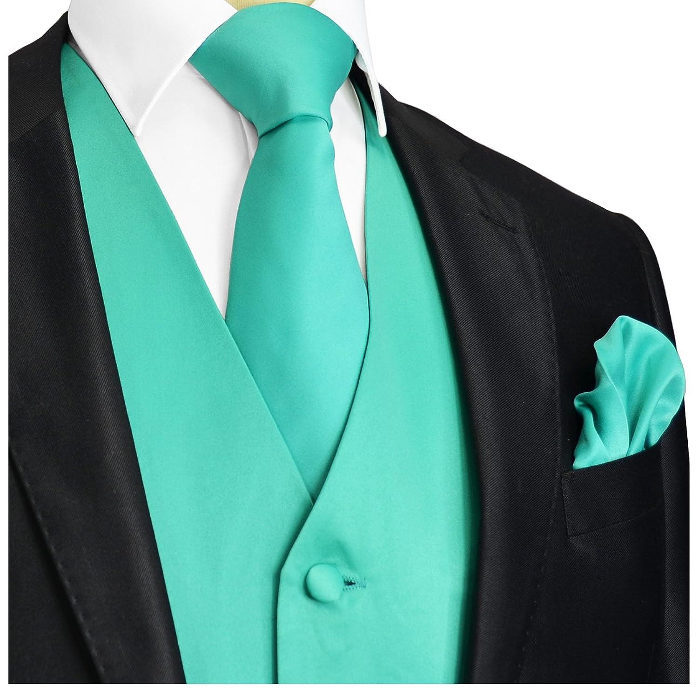 Marine Green Tuxedo Vest Set