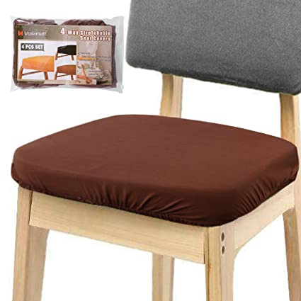 Amazon.com: Voilamart Chair Seat Covers, Dining Chair Cover ...