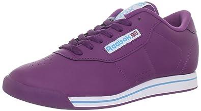 Reebok Zapatillas para mujer Morado Plum/White/Blue: Amazon.es: Zapatos y complementos