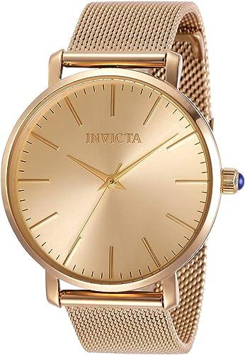 Invicta 31072 Reloj De Cuarzo Para Mujer Con Correa De Acero Inoxidable Oro Rosa 18 Modelo 31072 Watches
