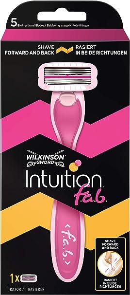 Wilkinson Intuition F.A.B afeitadora para mujer: Amazon.es: Salud ...