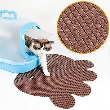 SKJIND Alfombrilla impermeable para gatos, para caja de arena, tamaño grande, suave en patas, control de scatter, fácil de limpiar: Amazon.es: Productos ...