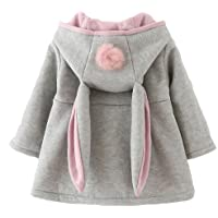 dd30acd2851a Amazon Best Sellers  Best Baby Girls  Down Jackets   Coats