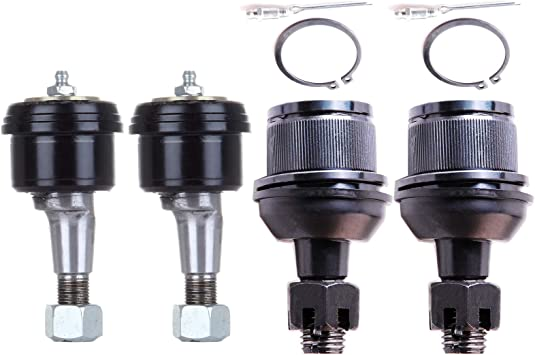 ECCPP Front Upper Lower Ball Joints Suspension Kit for 2003-2006 Dodge Ram 2500 3500 4WD 4Pcs
