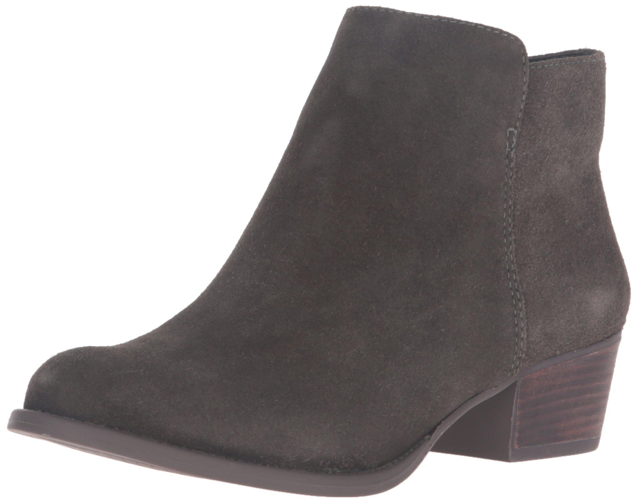 Jessica Simpson Women's Delaine Ankle Boot, Dark Moss, 8.5 Medium US