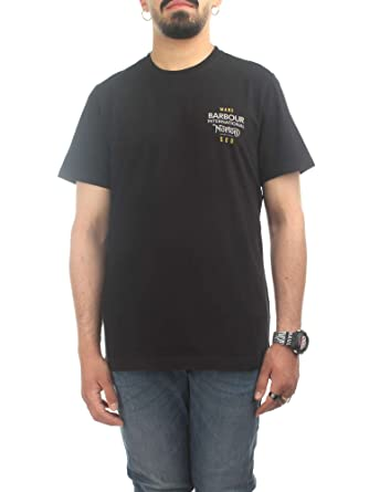Barbour - Camiseta - para Hombre Negro XXL: Amazon.es: Ropa y ...