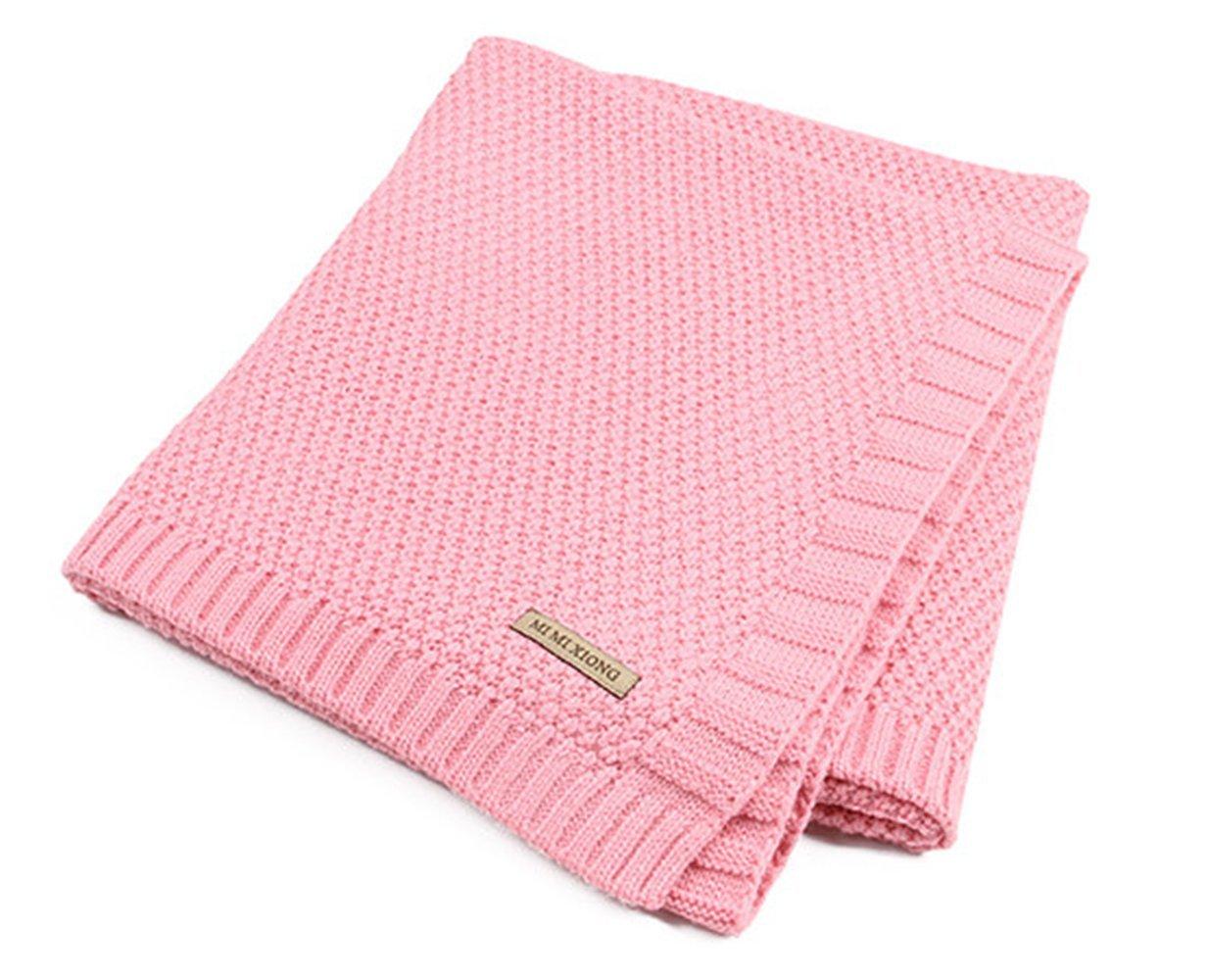 Hi8 Store de punto patrones bebé cochecito manta para cama infantil ...
